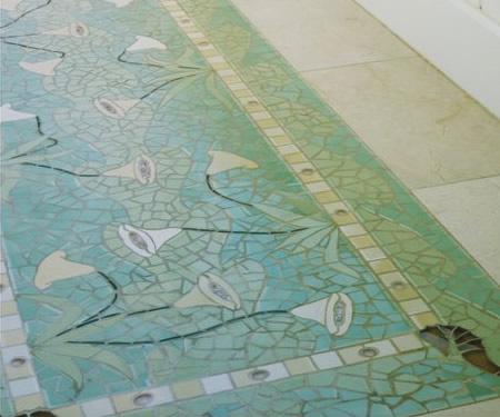 Bath Floor Inset Bath Floor Detail